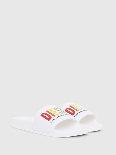 Diesel - SA-VALLA W, White - Slippers - Image 2