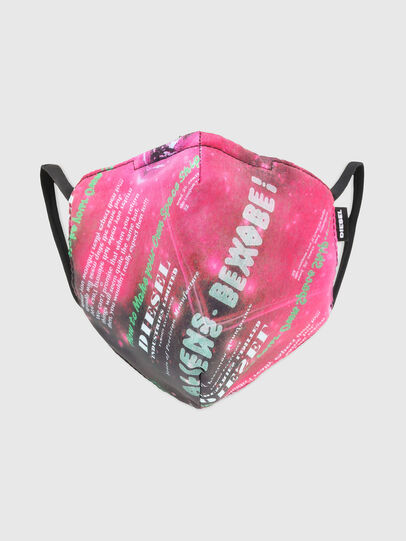 Diesel - FACEMASK-UNIVERSE-PI, Pink - Other Accessories - Image 1