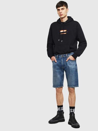 Diesel - THOSHORT, Medium blue - Shorts - Image 5
