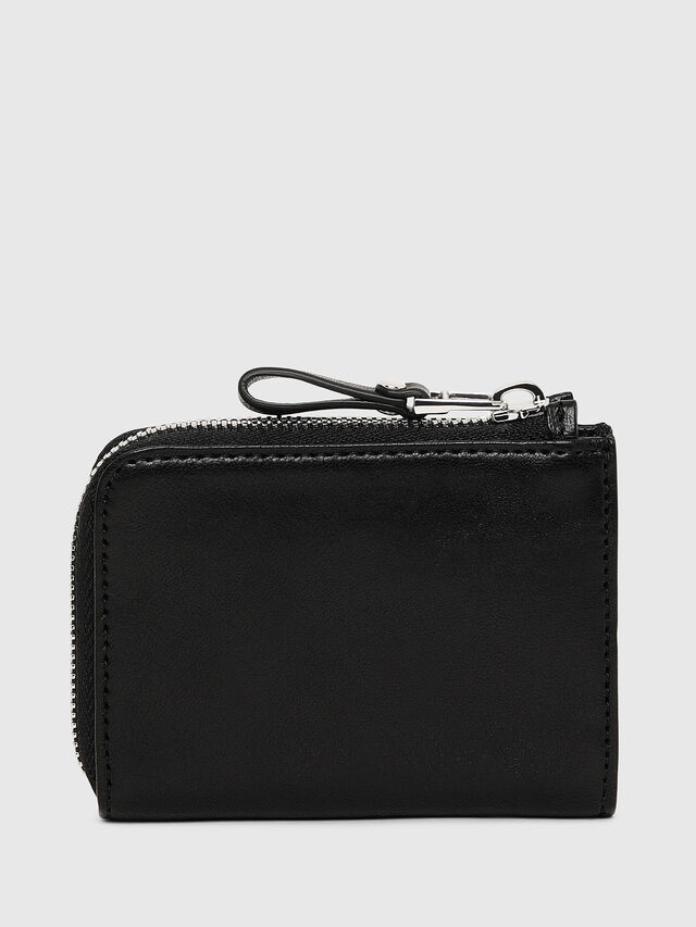 Diesel - L-PASSME, Black Leather - Small Wallets - Image 2