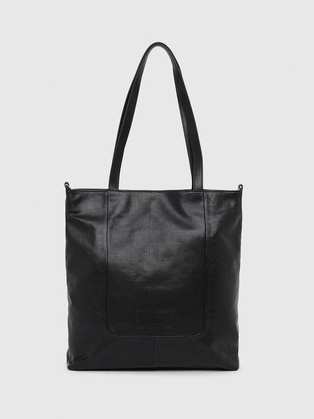 Diesel - L-TOLLE SHOPPER E/W, Black - Shopping and Shoulder Bags - Image 2