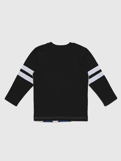 Diesel - TILLYB-R, Black/White - T-shirts and Tops - Image 2