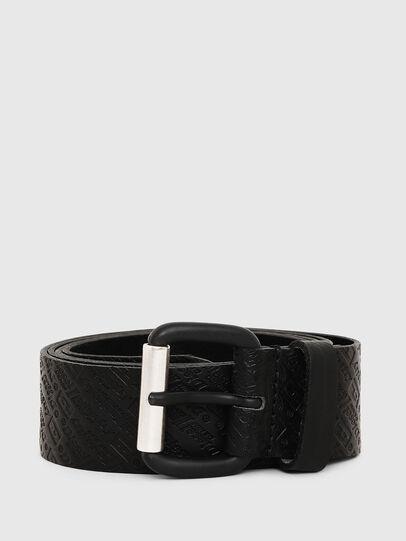 Diesel - B-STRIP, Black - Belts - Image 1
