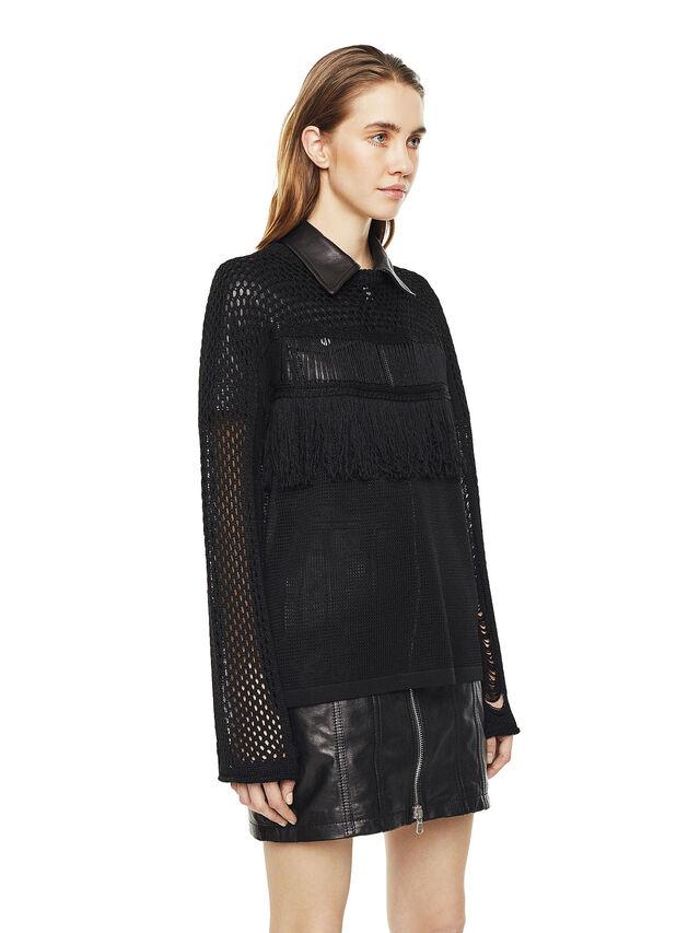 Diesel - MOFRAN, Black - Knitwear - Image 5