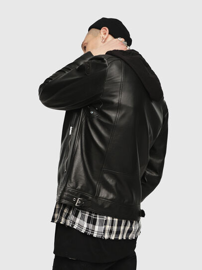 Diesel - L-SHIRO-WH,  - Leather jackets - Image 2