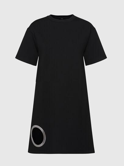 Diesel - D-EYESIE, Black - Dresses - Image 1
