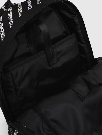 Diesel - MIRANO, Black/White - Backpacks - Image 5
