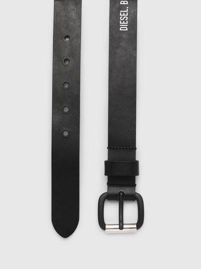 Diesel - B-CRESPINO, Black - Belts - Image 4