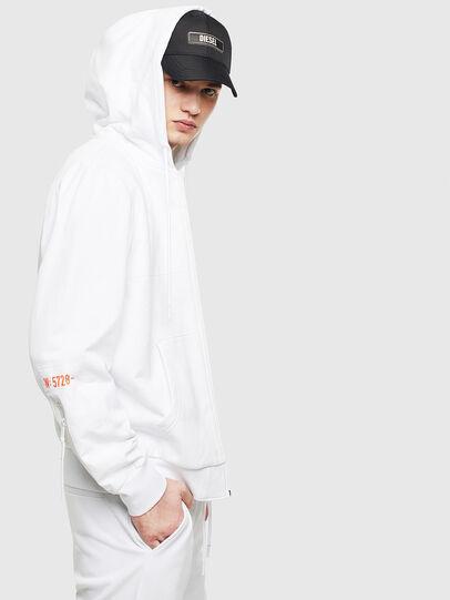 Diesel - S-DIEX, White - Sweaters - Image 5