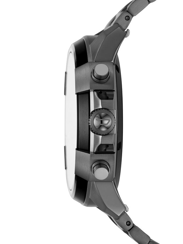 Diesel DT2004, Metal Grey - Smartwatches - Image 4