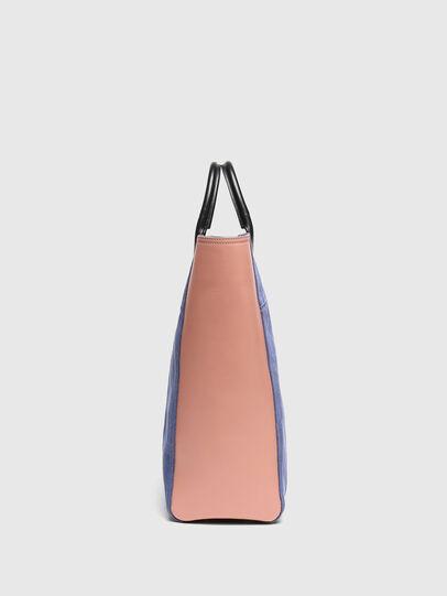 Diesel - LEENA L, Blue/Pink - Shopping and Shoulder Bags - Image 3