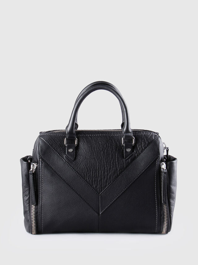 Diesel LE-TRASY, Black Leather - Satchels and Handbags - Image 2