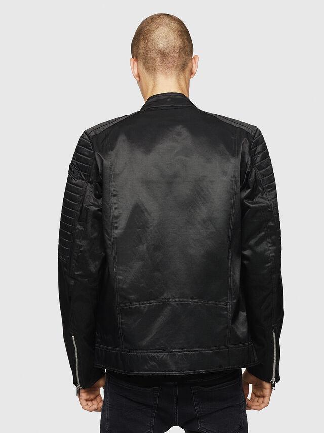 Diesel - J-SHIRO, Black - Jackets - Image 2