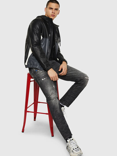 Diesel - L-CARR,  - Leather jackets - Image 4