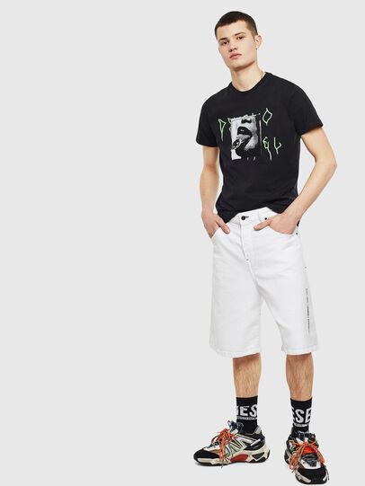 Diesel - T-DIEGO-S12, Black - T-Shirts - Image 5