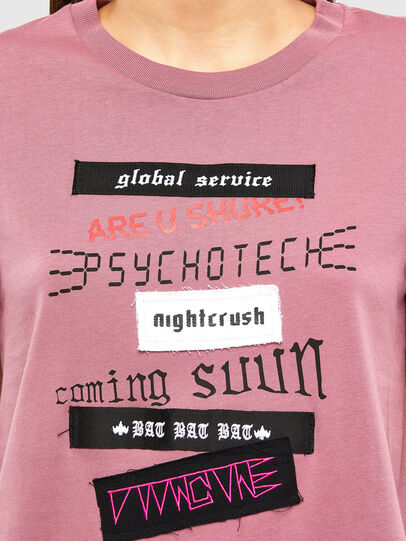 Diesel - T-SILY-V20, Pink - T-Shirts - Image 4
