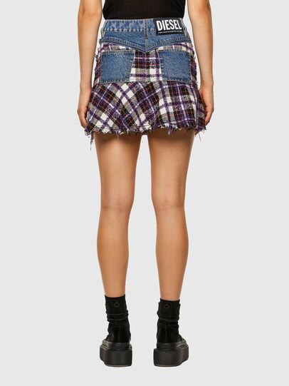 Diesel - O-BETH-BUCLE, Blue/Violet - Skirts - Image 2