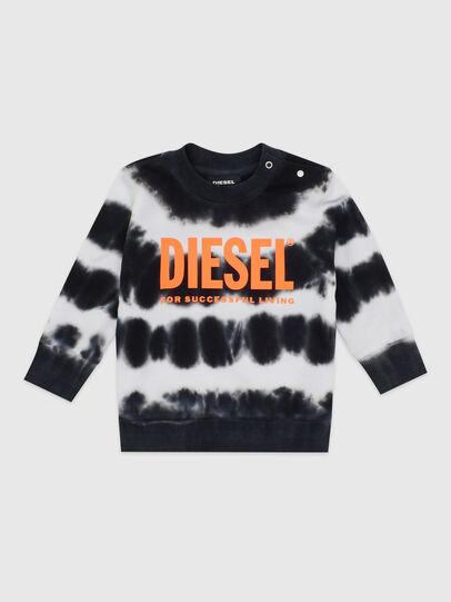 Diesel - SOBEZB, Black/White - Sweaters - Image 1
