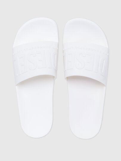 Diesel - SA-MAYEMI, White - Slippers - Image 4