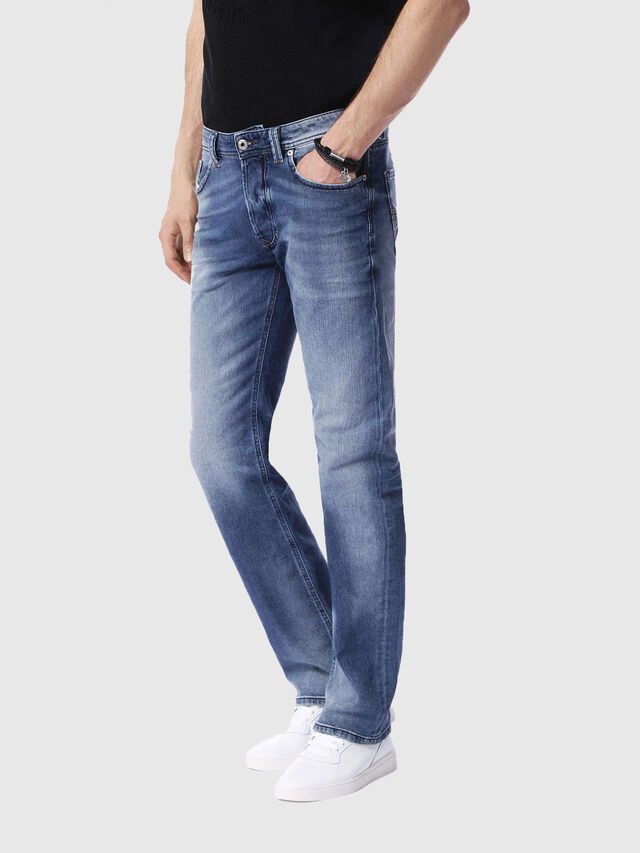 Diesel - Larkee 0853P, Medium blue - Jeans - Image 4
