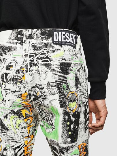Diesel - D-Macs 069KS, White - Jeans - Image 3