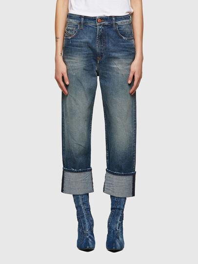 Diesel - D-Reggy 009UA, Dark Blue - Jeans - Image 1