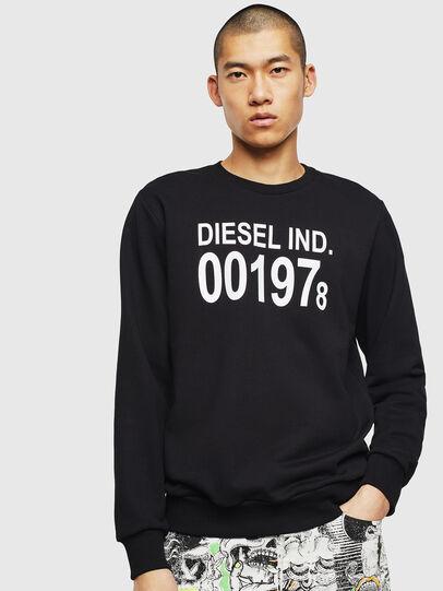 Diesel - S-GIRK-J3, Black - Sweaters - Image 1