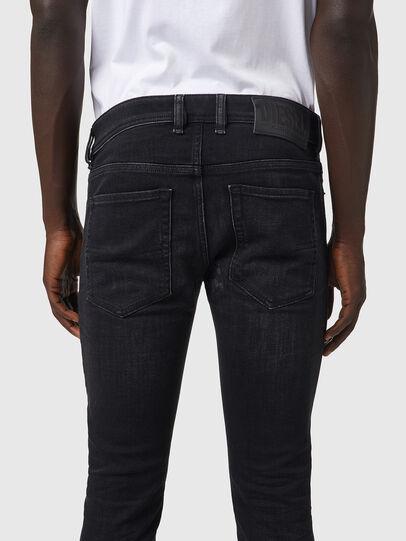 Diesel - Sleenker 09A89, Black/Dark grey - Jeans - Image 4