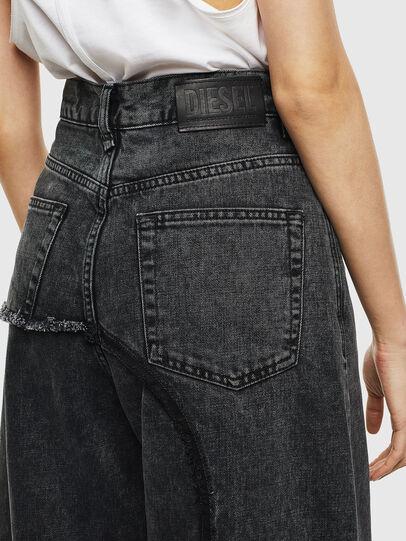 Diesel - D-Izzier 0KAXA, Black/Dark grey - Jeans - Image 5