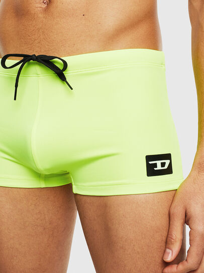 Diesel - BMBX-HERO, Yellow Fluo - Swim trunks - Image 3