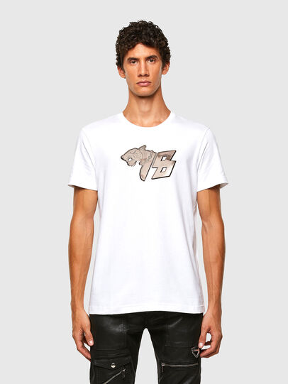 Diesel - T-DIEGOS-N29, White - T-Shirts - Image 1