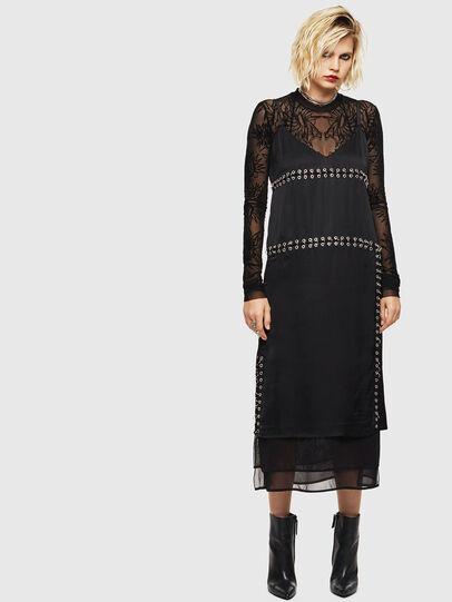 Diesel - D-NAKIA, Black - Dresses - Image 6