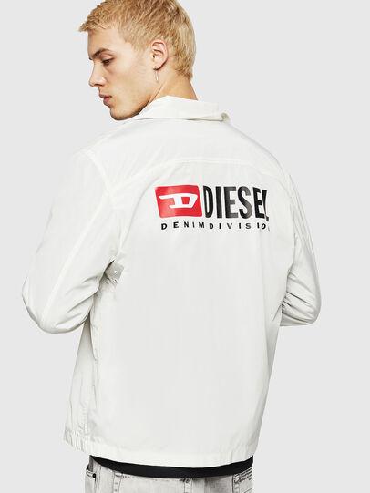 Diesel - J-ROMAN-P, White - Jackets - Image 3