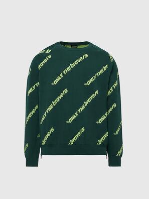 K-DAVIS, Dark Green - Knitwear