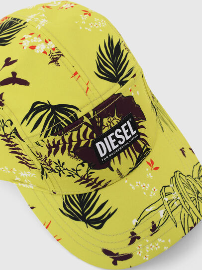 Diesel - C-WAY, Yellow Fluo - Caps - Image 3