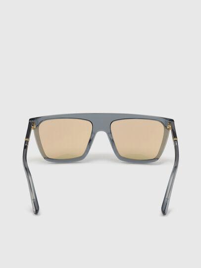 Diesel - DL0323, Black/Yellow - Sunglasses - Image 4