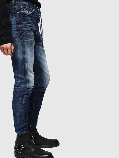 Diesel - D-Vider JoggJeans 069KD, Dark Blue - Jeans - Image 4