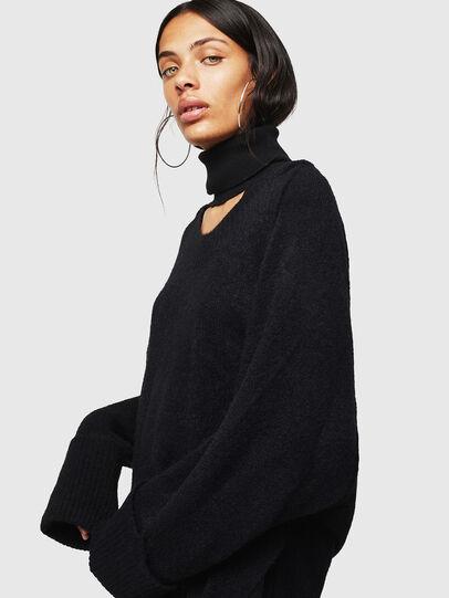 Diesel - M-MARIKAX, Black - Knitwear - Image 1