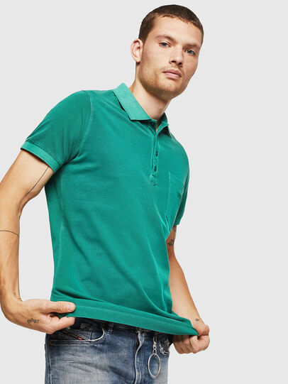 Diesel - T-KAL-2, Green - Polos - Image 1