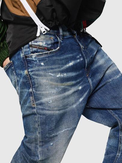 Diesel - D-Vider JoggJeans 0870Q, Medium blue - Jeans - Image 3