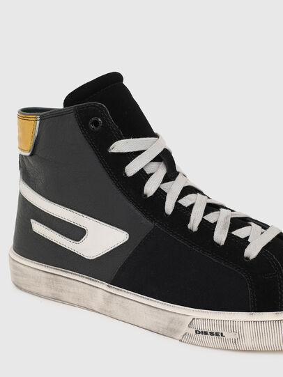 Diesel - S-MYDORI ML, Black/Yellow - Sneakers - Image 4