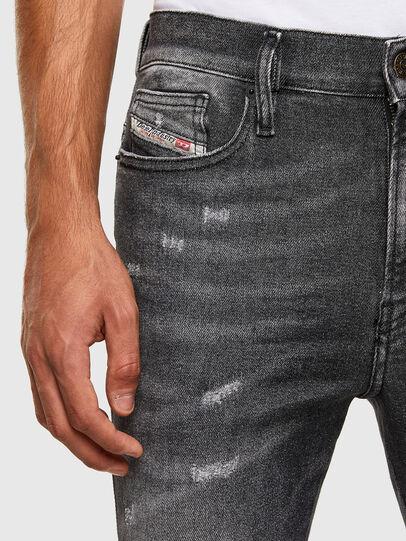Diesel - D-Istort 009EX, Black/Dark grey - Jeans - Image 3