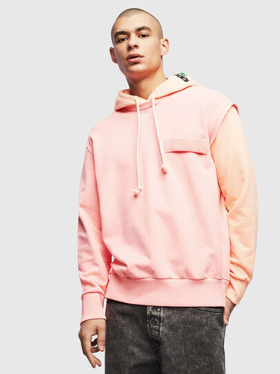 Diesel - S-CRAZY, Pink - Sweaters - Image 1