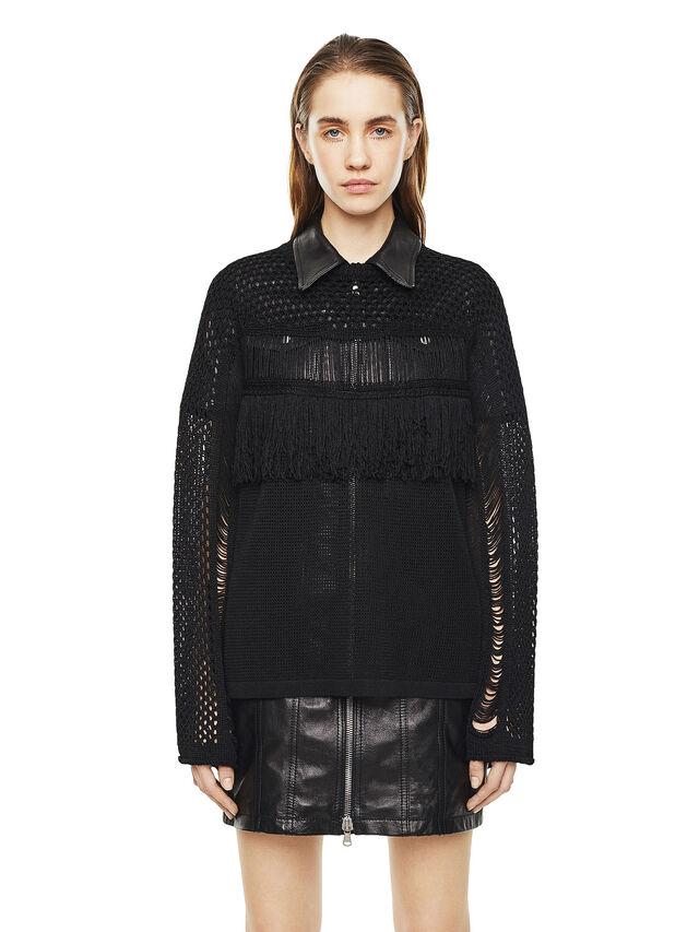 Diesel - MOFRAN, Black - Knitwear - Image 1