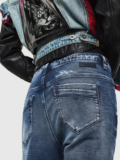 Diesel - FAYZA JoggJeans® 0096M, Dark Blue - Jeans - Image 4