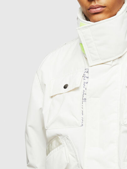 Diesel - W-OKSO, White - Winter Jackets - Image 7
