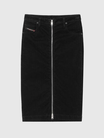 Diesel - D-ELBEE-SP JOGGJEANS, Black - Skirts - Image 4