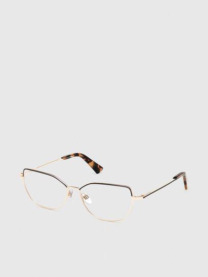 Diesel - DL5355, Pink/Black - Eyeglasses - Image 2