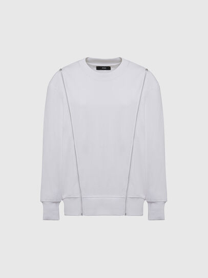Diesel - F-GEORGIA, White - Sweaters - Image 1