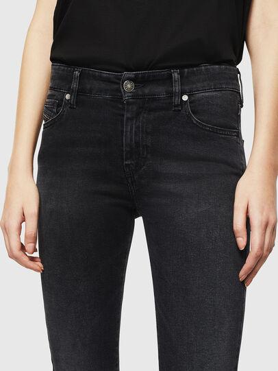 Diesel - Slandy 069JW, Black/Dark grey - Jeans - Image 4